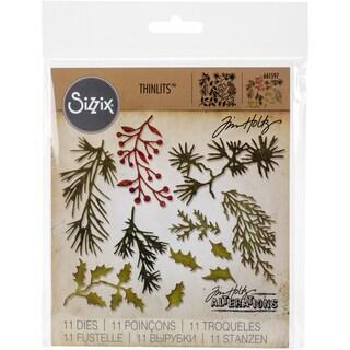Sizzix Thinlits Dies 11/Pkg By Tim Holtz-Mini Holiday Greens https://ak1.ostkcdn.com/images/products/16069392/P22455742.jpg?_ostk_perf_=percv&impolicy=medium
