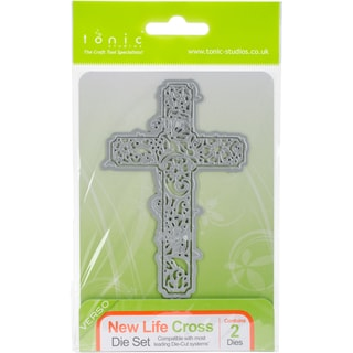 Tonic Studios Die-New Life Cross
