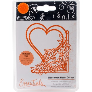 Tonic Studios Fanciful Floral Die-Blossomed Heart
