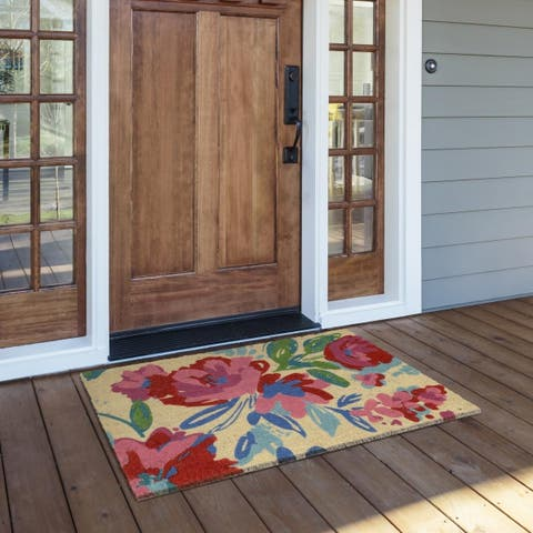 Belinda 24x36 Coir Doormat By Kosas Home
