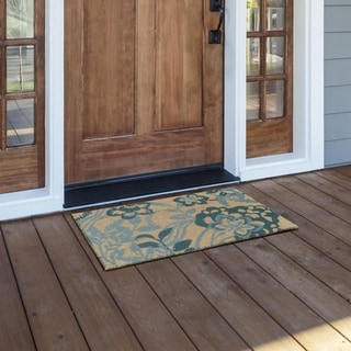Kosas Home Giverny 18x30 Coir Fiber Doormat