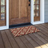 Kosas Home Luna 18x30 Coir Fiber Doormat