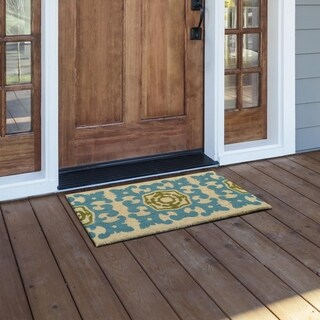 Kosas Home Bali 18x30 Coir Fiber Doormat