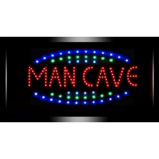 Man Cave Framed Flashing Bar Garage Marquee LED Signs
