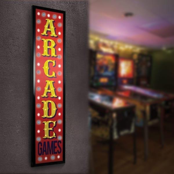 Shop American Art Decor Arcade Games Framed Marquee Man Cave