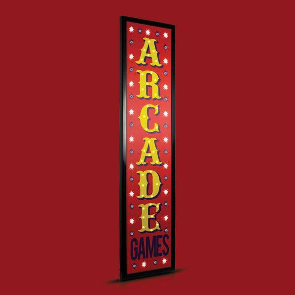 American Art Decor Arcade Framed