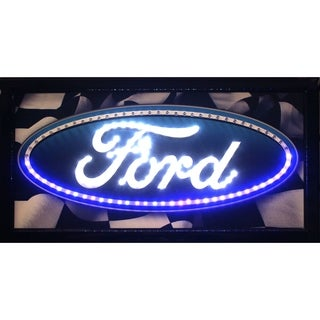 American Art Decor Ford Marquee LED Signs Man Cave Wall Decor