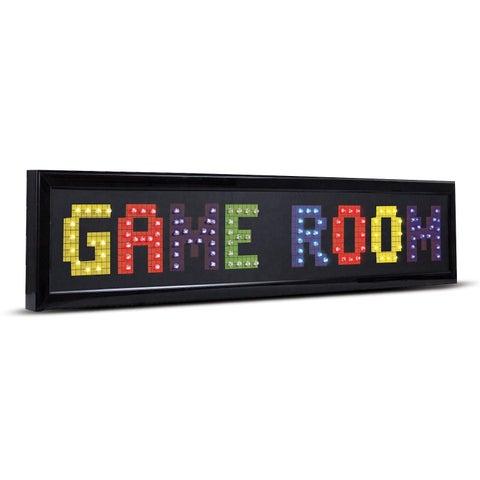Game Room Framed LED Lights Man Cave Wall Decor