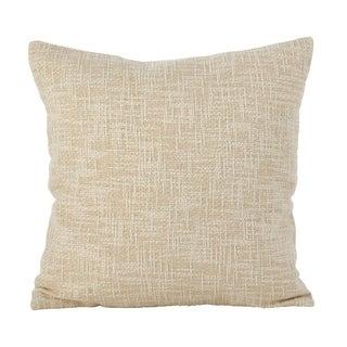 Woven Metallic Design Lurex Cotton Down Filled Throw Pillow