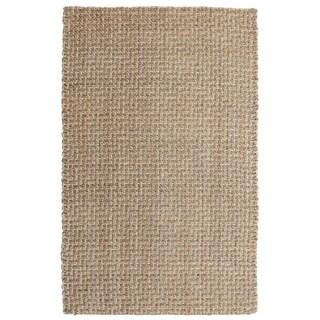 Kosas Home Handspun Sherwood Jute Natural  Rug (5'x8')