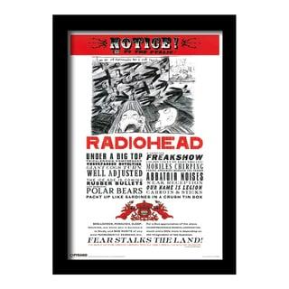 Radiohead - Fear - Framed 11x17 print