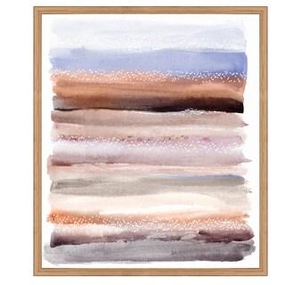 Oliver Gal 'Lares Desert' Framed Art