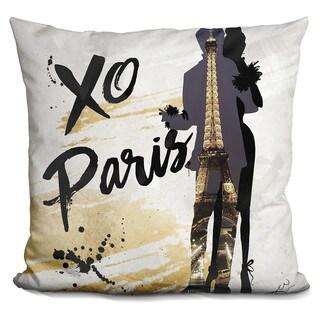 By Jodi 'XO Paris' Throw Pillow