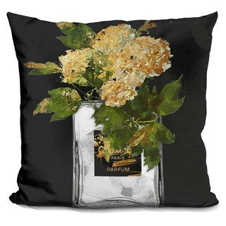 By Jodi 'Perfume vase' Throw Pillow