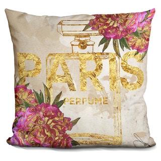 By Jodi 'Paris perfume' Throw Pillow
