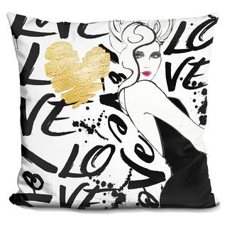 By Jodi 'Love the one' Throw Pillow