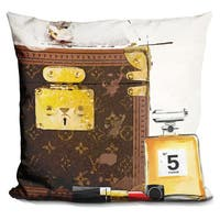 By Jodi 'Lets go hers' Throw Pillow