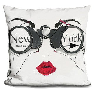 By Jodi 'I see NYC' Throw Pillow
