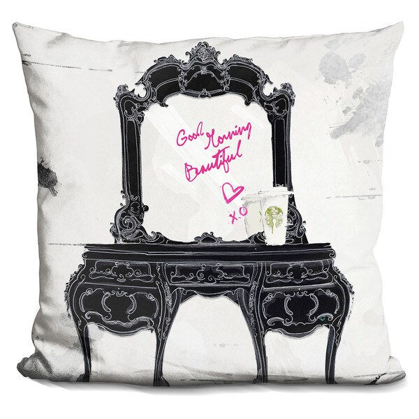 By Jodi 'Good morning beautiful' Throw Pillow