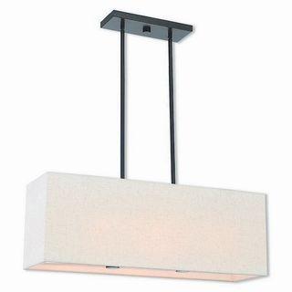 Livex Lighting 41154-92 Summit 3 light Bronze Indoor Chandelier
