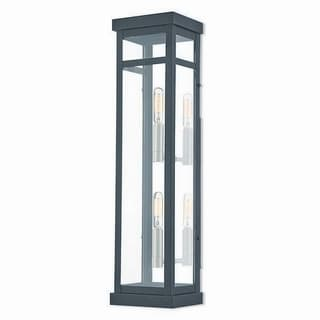 Livex Lighting 20706-04 Outdoor Wall Lantern 2 light Black