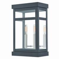Livex Lighting 20705-04 Outdoor Wall Lantern 2 light Black