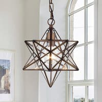 Warehouse of Tiffany Minkar 1-light Antique Bronze Star Pendant