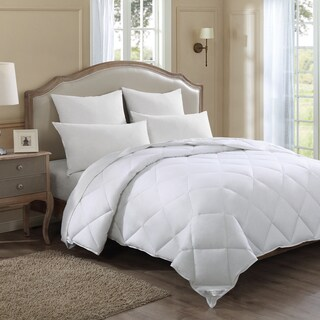 Lightweight Cotton Hypoallergenic Down Alternative Comforter (2 options available)