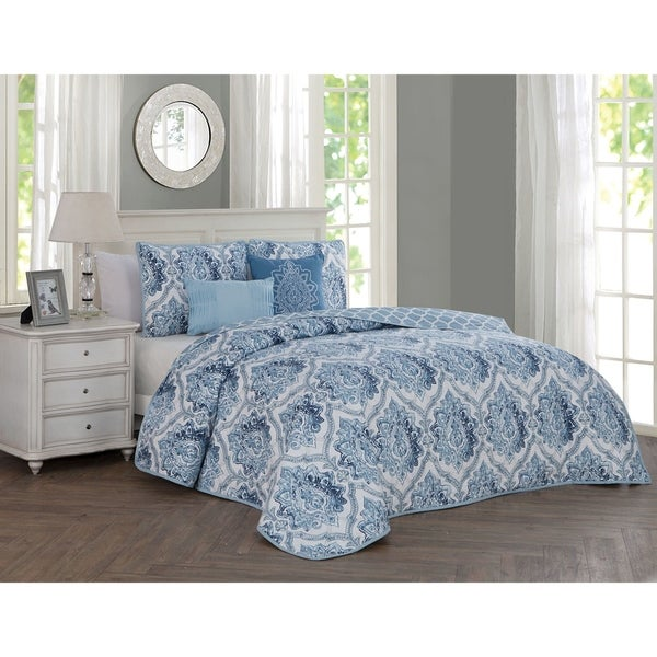 Avondale Manor Notting Hill 5-piece Quilt Set