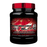 SciTec Hot Blood 3.0 Preworkout Blue Guarana (41 Servings)