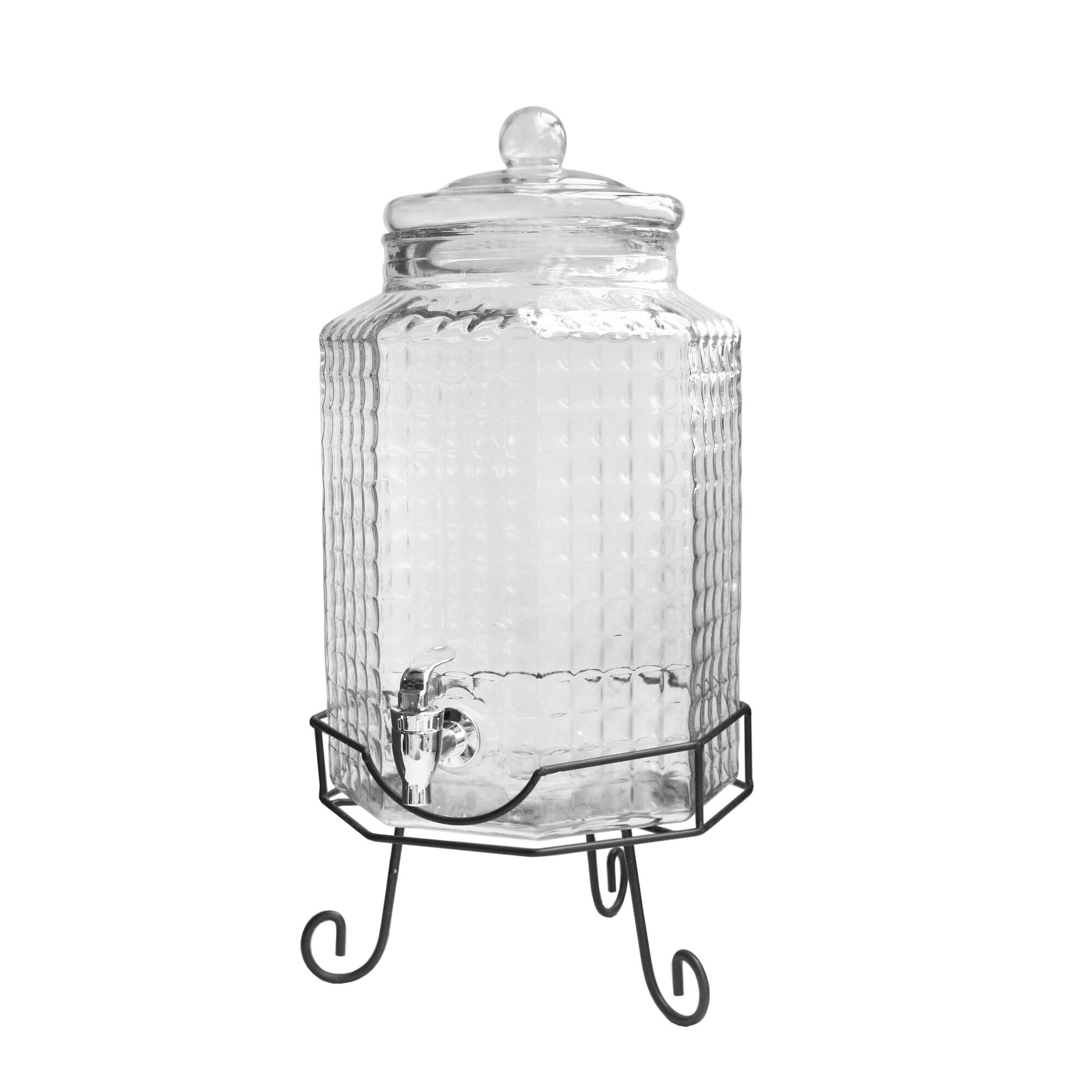 Gibson Bee Hive Beverage Dispenser White 1 gallon