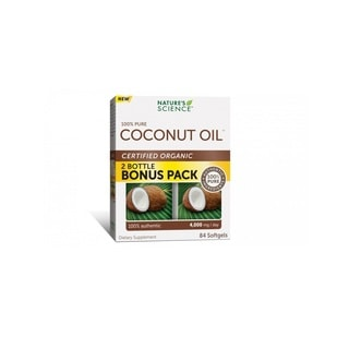 Nature's Science Coconut Oil  (84 Softgels)