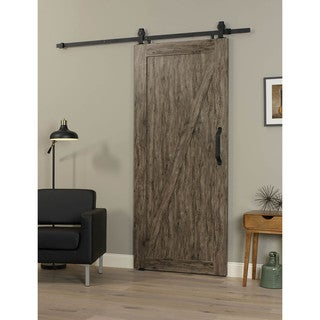 Millbrooke 36w x 84h PVC Z Barn Door Kit