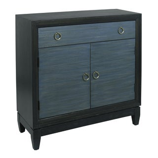 Pacifica Blue Wood Hall Chest