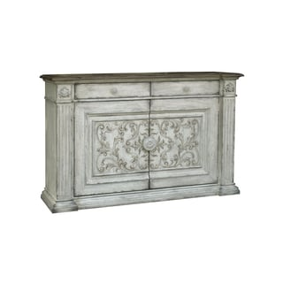 Serendipity White-finish Wood Console