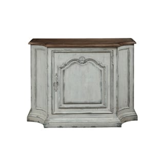 Oyster Bay White Wood Console Table