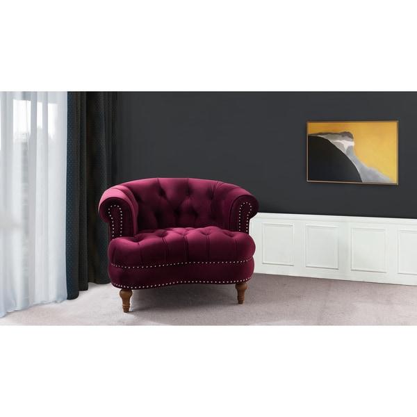 Shop Jennifer Taylor La Rosa Tufted Accent Chair Free