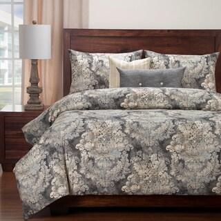 Siscovers Cindersmoke Luxury Cotton-Linen Duvet Set