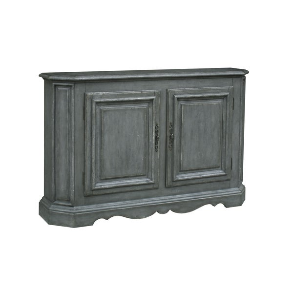 Sojourn Grey Wood Accent Console Table