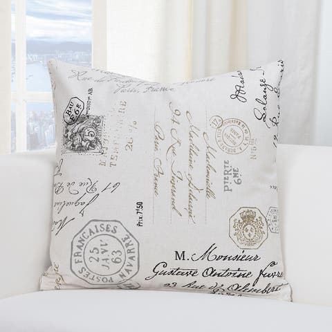 The Gray Barn Windy Oaks Postscript Throw Pillow