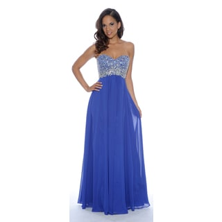 Decode 1.8 Strapless Gown with Beaded Bodice