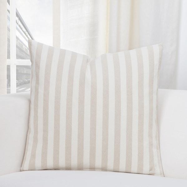 SIScovers Farmhouse Stripe Cotton-blend Designer Throw Pillows