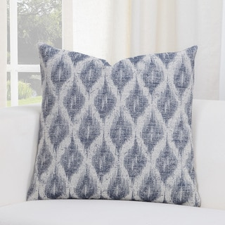 SIScovers Diamond Creek Blue/Grey Geometric Accent Throw Pillow