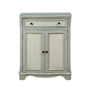 Weathered Two-tone Hall Chest