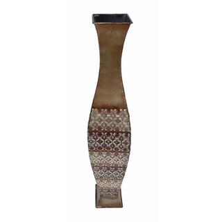 D'Lusso Designs Maris Design Multicolored Metal 32-inch Floor Vase