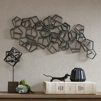 Madison Park Sadie Grey Metal Wall Decor
