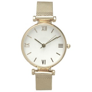 Olivia Pratt Women's Roman Numerals Petite Bracelet Watch One Size