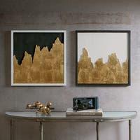 INK+IVY Richter Gold Wall Decor Set Of 2
