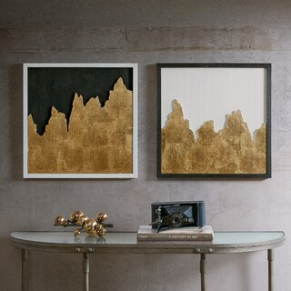 INK+IVY Richter Gold Wall Decor Set Of 2