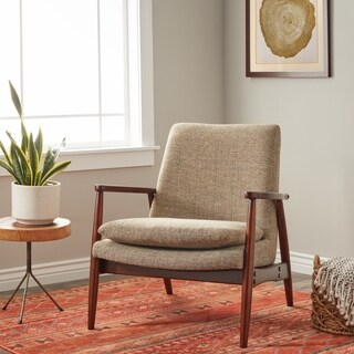 Palm Canyon Frankie Retro Chair Mineral Tweed